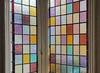 stained, obscure and coloured glass panel repairs