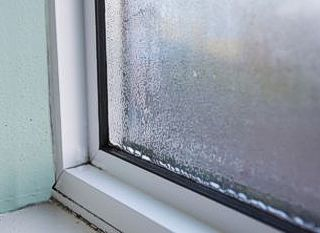 misted double glazed unit